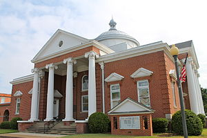 Indianola Historic District - First Baptist Church