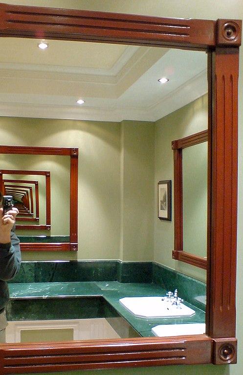 File Infinity Mirror In A Public, Bathroom Infinity Mirror