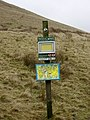 Information Post, Rossendale way - geograph.org.uk - 647904.jpg
