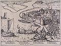 Inname van Geertruidenberg door de Geuzen in 1572 (Frans Hogenberg).jpg