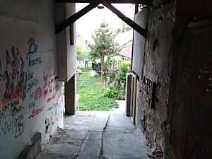 Savamala - One of the remaining inner yards in Savamala