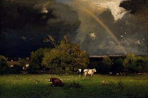 The Rainbow (painting) - Image: Inness, George The Rainbow Google Art Project