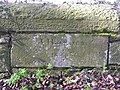 Inscription on wall - geograph.org.uk - 157943.jpg