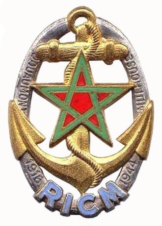Régiment d'infanterie-chars de marine - Image: Insigne du RICM