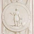 Interiör, detalj. Minnesrundeln. Grissaillemåleri. Stoppande av upploppet i Marseille - Skoklosters slott - 85961.tif