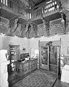 interieur, entree jachtslot met balie - molenhoek - 20002573 - rce