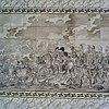 interieur, schoorsteenmantel met tegeltableau (slagveld afbeelding) - 20000048 - rce