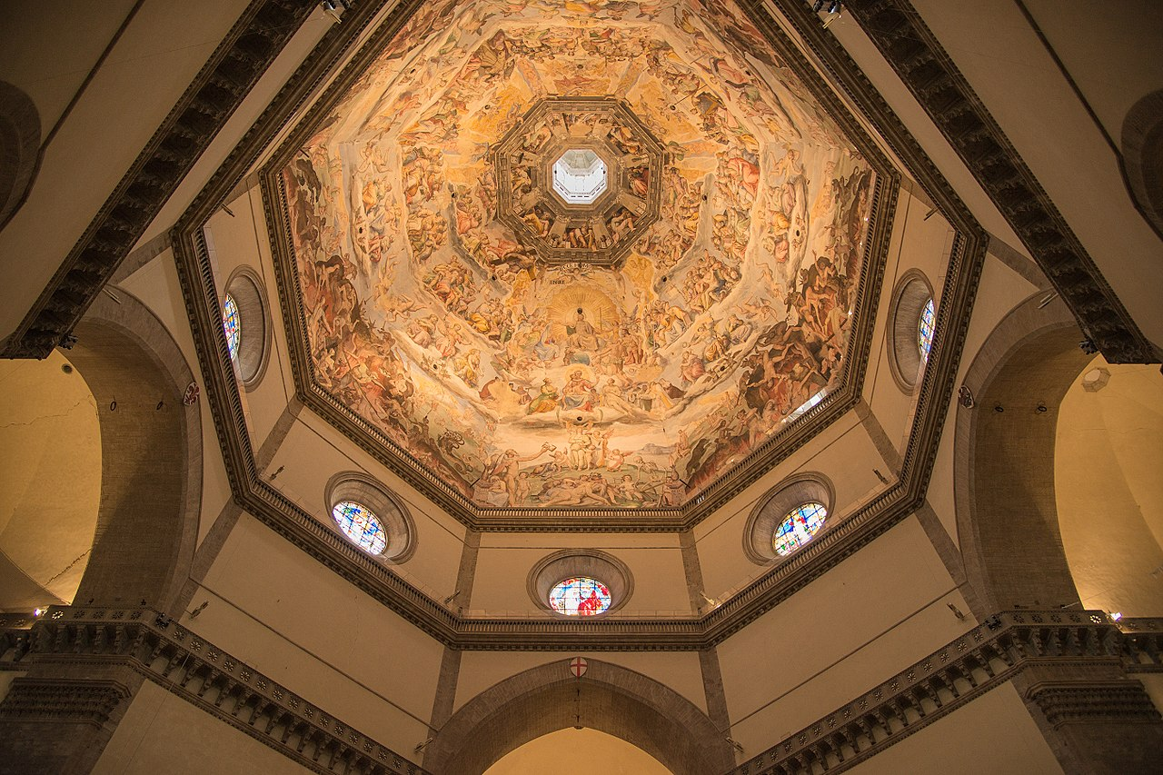 Florence Dome: File:Interior Of The Dome, Cathedral, Florence (Cattedrale