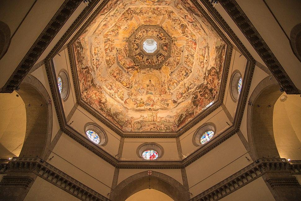 Interior of the dome, Cathedral, Florence (Cattedrale di Santa Maria del Fiore)
