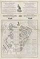Internationale Koloniale en Uitvoerhandel Tentoonstelling Koningrijk der Nederlanden - Stad Amsterdam. Plan - 1883 - Royaume des Pays-Bas. - Ville d'Amsterdam. Exposition (..) (titel op object), RP-P-OB-89.583.jpg