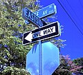 Intersection of State Avenue & Eastside Drive, Olympia, WA, Sept 2008 - panoramio.jpg