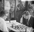 Interzonaal schaaktoernooi, Larsen, Smuslov, Bestanddeelnr 916-5620.jpg