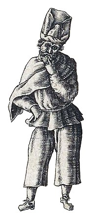 Inventaire universel des oeuvres de Tabarin (1622) – Detail with Tabarin - Gallica (adjusted).jpg