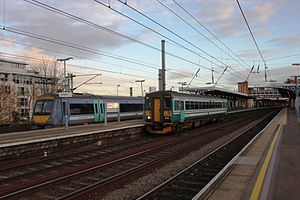 Ipswich station - National Express 170205 and 153309.jpg