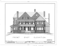 Isaac Bell House, 70 Perry Street, Newport, Newport County, RI HABS RI,3-NEWP,44- (sheet 4 of 8).png