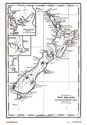 Joel Samuel Polack - Islands of New Zealand by Joel Samuel Polack