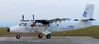 Isles of Scilly Skybus - Isles of Scilly Skybus de Havilland Canada Twin Otter G-BIHO