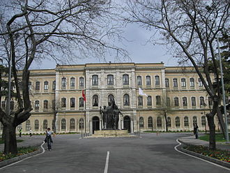 Istanbul University was founded in 1453 as a Darulfunun. On 1 August 1933 it was reorganised and became the Republic's first university. Istanbul University campus March 2008b.JPG