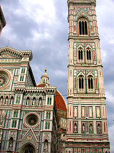 Florence Duomo and Campanile (bell tower).