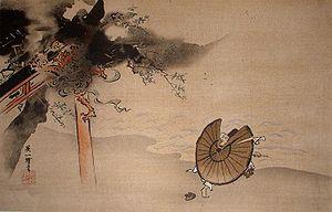 "Hanabusa Itchō - ""The Falling Thunder God"" by Hanabusa Itchō"