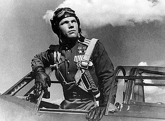 Soviet Air Forces - Pilot Ivan Kozhedub during WWII