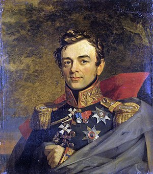 Ivan Paskevich - Portrait by George Dawe from the Military Gallery