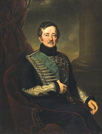 Ivan Paskevich - Portrait by Jan Ksawery Kaniewski in 1849