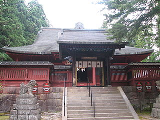 Shinto shrine in Aomori Prefecture, Japan
