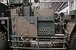 JGSDF Type 12 SSM launcher unit(04-0604, launch mode) center fuselage section left side view at Niconico chokaigi April 28, 2018 01.jpg