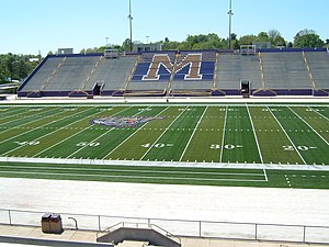 FieldTurf - FieldTurf at James Madison University's Bridgeforth Stadium in May 2007