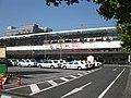JRKyushu-Nagasaki-main-line-Saga-station-south-entrance-20091031.jpg