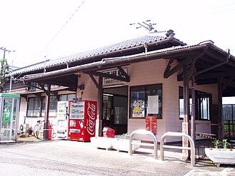 Yanase Station - Yanase Station, August 2006