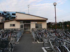 JR Central of Taketoyo Line in Higashi-Narawa Station 01.JPG