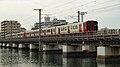 JR Fukuoka Tatara river Iron bridge.jpg