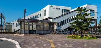 Kamiiso Station - Kamiiso Station in September 2014