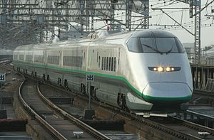 Tsubasa (train) - Image: J Reast E3 1000 Omiya 20110416