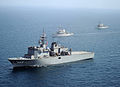 JS Uraga, USS Pioneer and USS Ardent in IMCMEX 12, -20 Sep. 2012 a.jpg