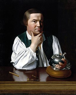 Paul Revere American silversmith and Patriot in the American Revolution