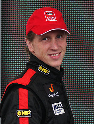 Jaap van Lagen - Lagen at the 2009 FIA WTCC Race of Japan.