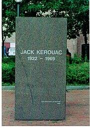 Jack Kerouac Gedenkstein