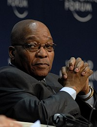 Jacob Zuma, 2009 World Economic Forum on Africa-4.jpg