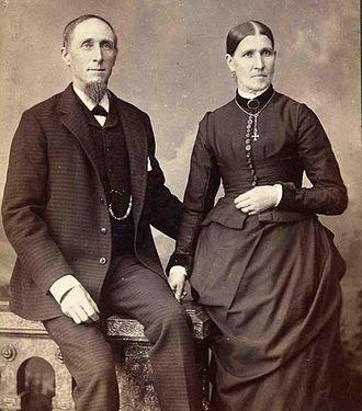 Jacob Nist - Portrait of Jacob and Mary Nist