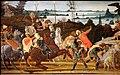 Jacopo del sellaio, tarquinio prisco entra a roma, 1470 ca. 02.jpg