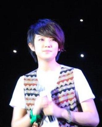 Liu Liyang - Liu Liyang performing at the Star Live in Beijing for MySpace Earthquake Relief Concert on June 5, 2008