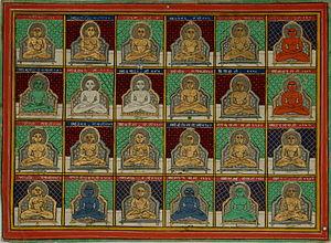 Tirthankara - Image: Jain 24 Tirthankaras