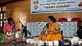 Jaltarang music concert by Vidushi Shashikala Dani at Gandhi Bhavan Bengaluru.jpg