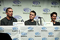 James Dashner, Will Poulter & Dylan O'Brien (13949001753).jpg