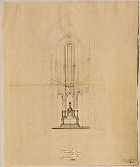 Design for the high altar in the Cathedral of Our Lady in Antwerp