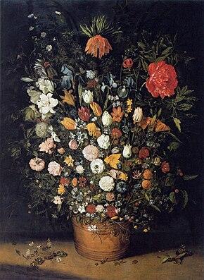 Jan brueghel l 39 ancien wikip dia for Bouquet de fleurs wiki