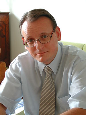 Slovak literature - Pavol Janík, Ph.D., Slovak writer, President of the Slovak Writers' Society (2003 - 2007)